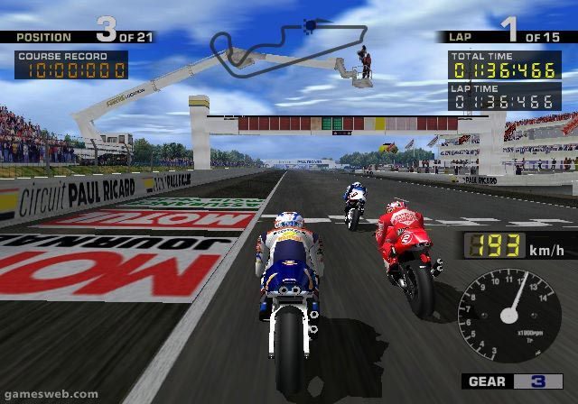 MotoGP  Archiv - Screenshots - Bild 2