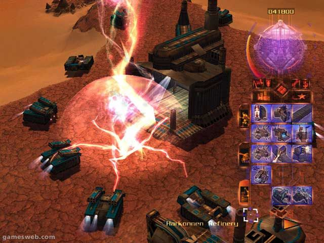 Emperor: Battle for Dune Screenshots Archiv - Screenshots - Bild 9