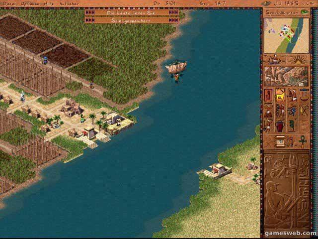 Kleopatra: Königin des Nils - Screenshots - Bild 4