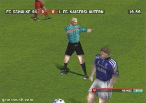Bundesliga Stars 2001 - Screenshots - Bild 15