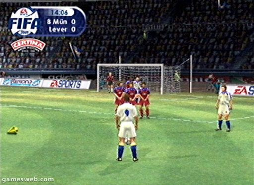 FIFA 2001 - Screenshots - Bild 4