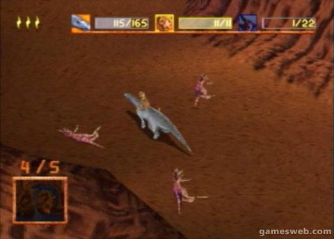 Disney's Dinosaur - Screenshots - Bild 2
