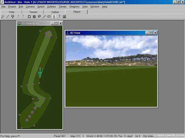 Tiger Woods PGA Tour 2001 - Screenshots - Bild 13