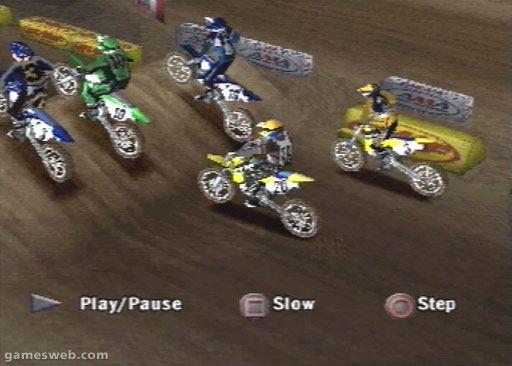 Supercross 2001 - Screenshots - Bild 2