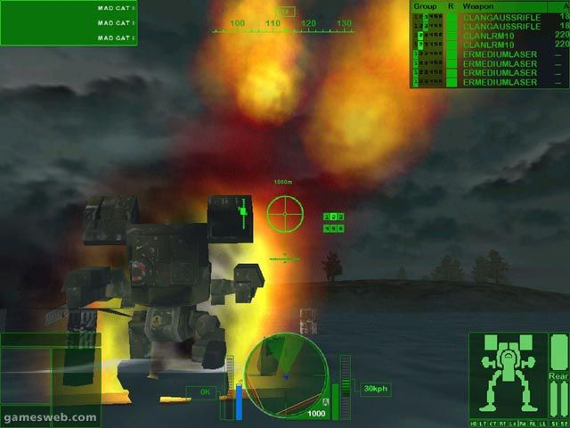 MechWarrior 4: Vengeance - Screenshots - Bild 15