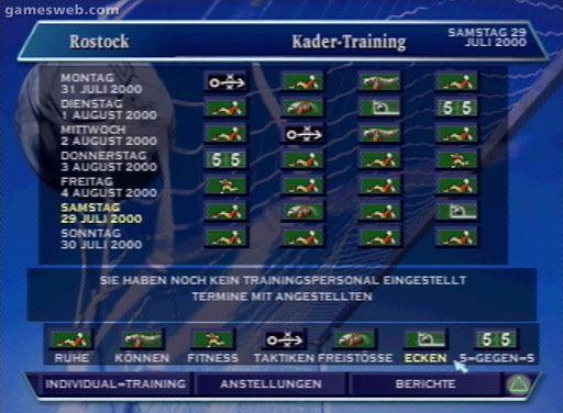 DSF Fussball Manager 2001 - Screenshots - Bild 13