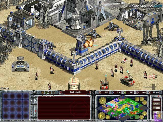 Star Wars Galactic Battlegrounds  Archiv - Screenshots - Bild 2
