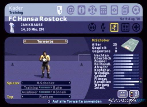 BDFL Manager 2002 - Screenshots - Bild 2