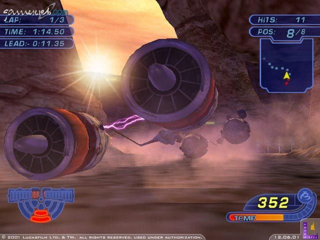Star Wars Racer Revenge  Archiv - Screenshots - Bild 21