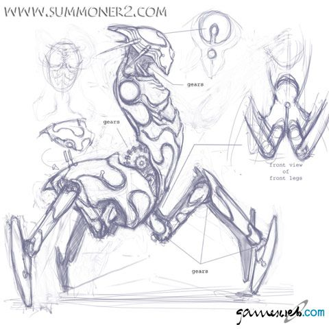 Summoner 2  Archiv - Artworks - Bild 4