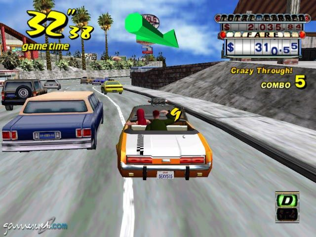 Crazy Taxi - Screenshots - Bild 13