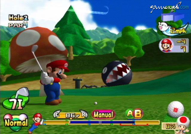Mario Golf: Toadstool Tour  Archiv - Screenshots - Bild 4
