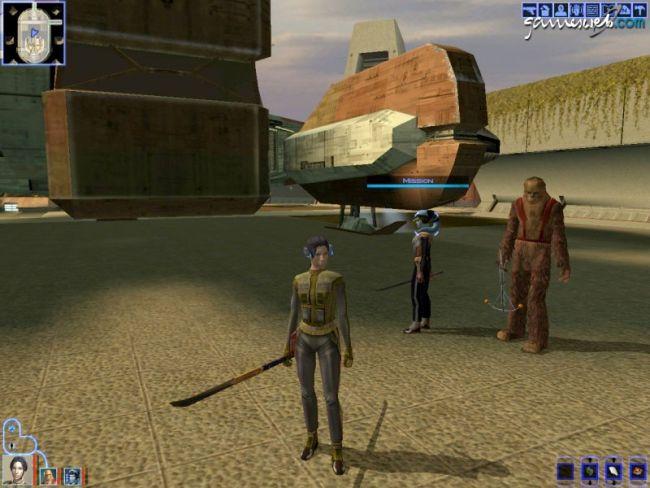 Star Wars: Knights of the Old Republic - Screenshots - Bild 1