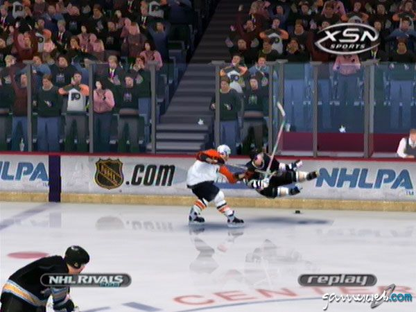 NHL Rivals 2004 - Screenshots - Bild 13
