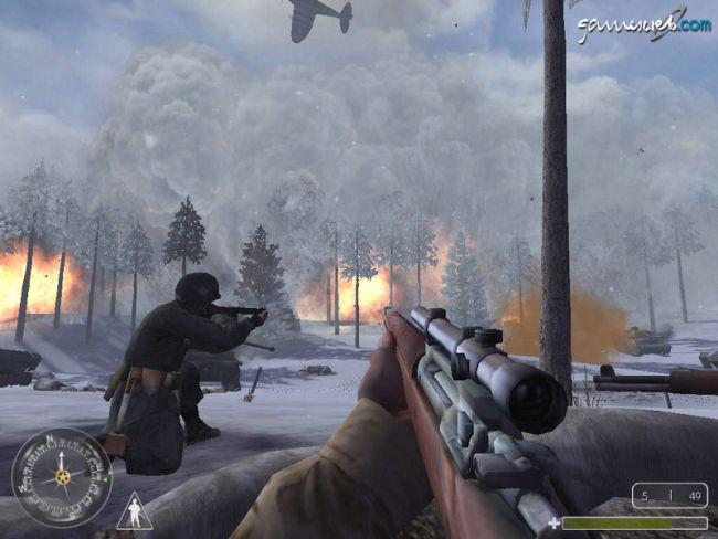 Call of Duty: United Offensive  Archiv - Screenshots - Bild 3