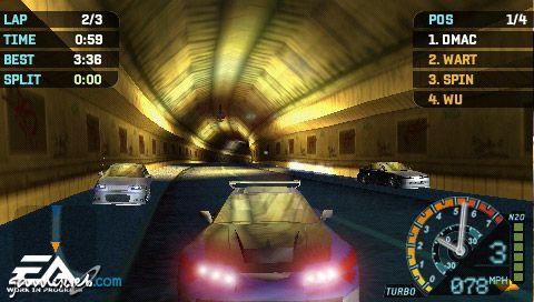 Need for Speed: Underground Rivals (PSP)  Archiv - Screenshots - Bild 6