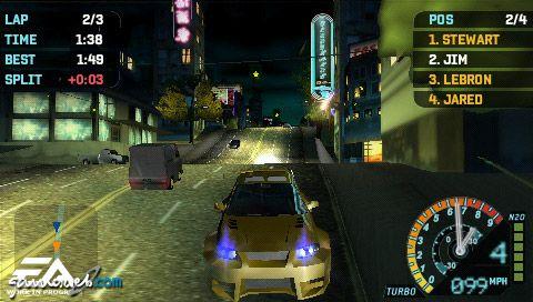 Need for Speed: Underground Rivals (PSP)  Archiv - Screenshots - Bild 3