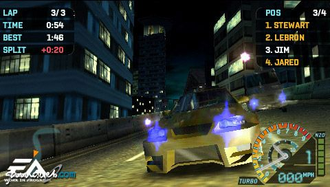 Need for Speed: Underground Rivals (PSP)  Archiv - Screenshots - Bild 5
