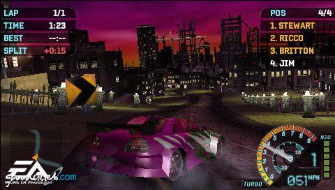 Need for Speed: Underground Rivals (PSP)  Archiv - Screenshots - Bild 2
