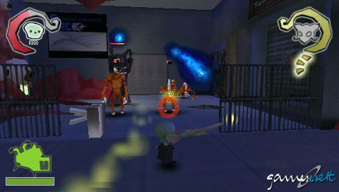 Death, Jr. (PSP)  Archiv - Screenshots - Bild 2