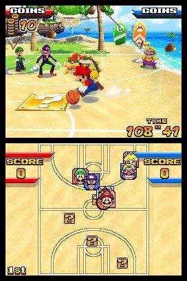 Mario Hoops 3-on-3 (DS)  Archiv - Screenshots - Bild 6