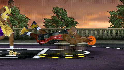 NBA Ballers: Rebound (PSP)  Archiv - Screenshots - Bild 2