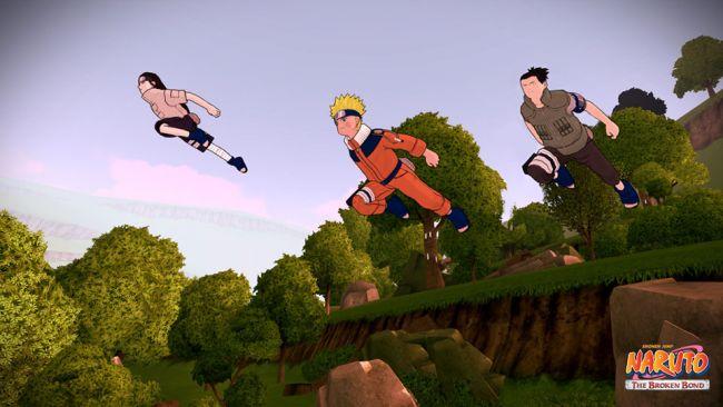Naruto: The Broken Bond - Screenshots - Bild 7