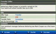 Football Manager Handheld 2010 - Screenshots - Bild 1