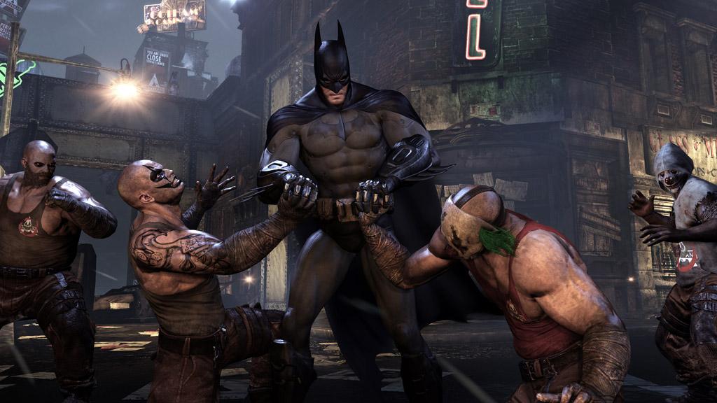 Batman: Arkham City: Feiert auf den VGA seine Weltpremiere - News ...