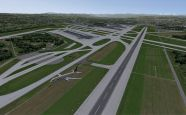 Mega Airport Zürich 2012 für Flight Simulator X - Screenshots - Bild 5