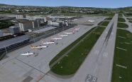Mega Airport Zürich 2012 für Flight Simulator X - Screenshots - Bild 3