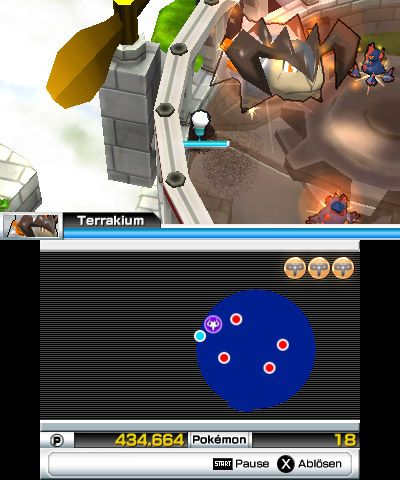 Super Pokémon Rumble - Screenshots - Bild 1