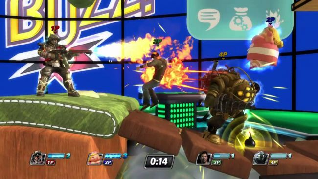 PlayStation All-Stars Battle Royale - Screenshots - Bild 1