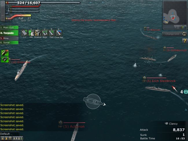 Navyfield 2: Conqueror of the Ocean - Screenshots - Bild 3