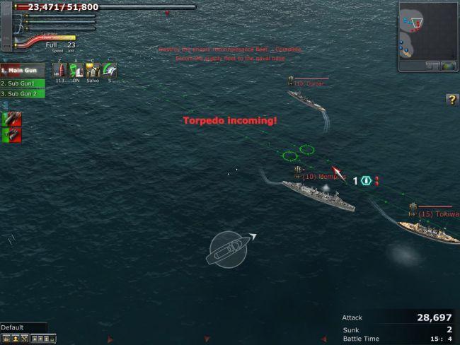 Navyfield 2: Conqueror of the Ocean - Screenshots - Bild 10