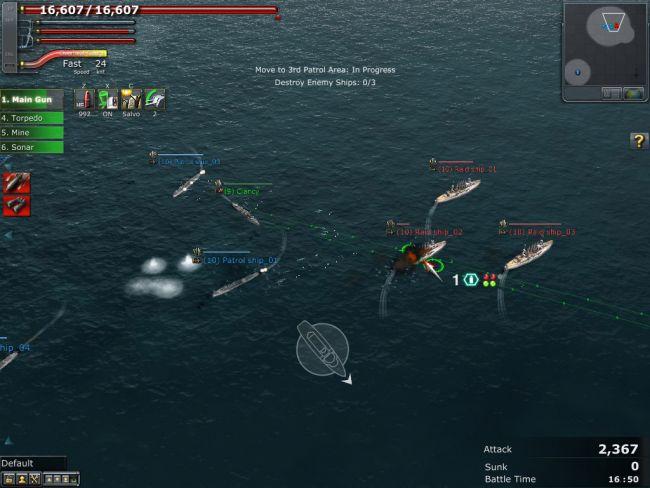 Navyfield 2: Conqueror of the Ocean - Screenshots - Bild 14