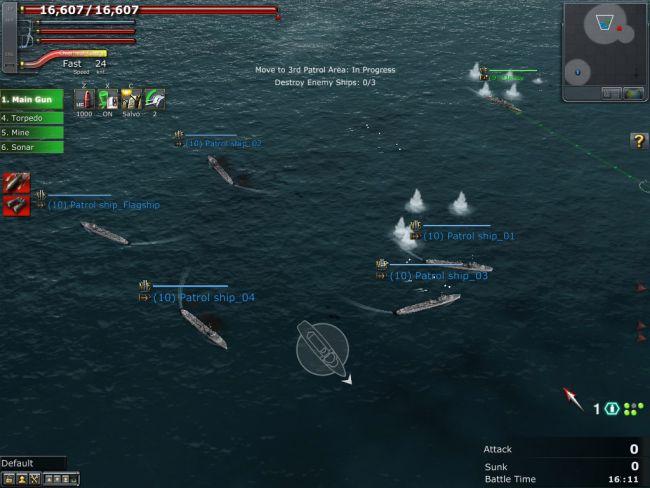 Navyfield 2: Conqueror of the Ocean - Screenshots - Bild 13