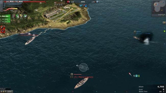Navyfield 2: Conqueror of the Ocean - Screenshots - Bild 18