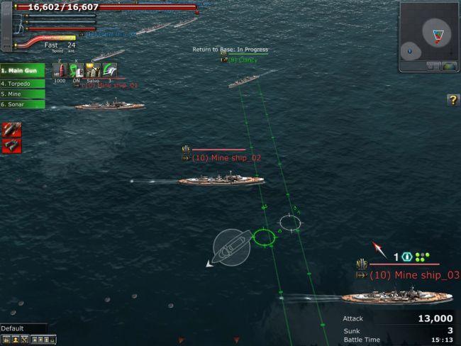 Navyfield 2: Conqueror of the Ocean - Screenshots - Bild 15
