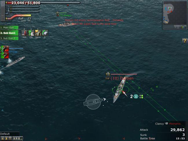 Navyfield 2: Conqueror of the Ocean - Screenshots - Bild 11