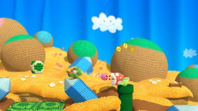 Yoshi's Woolly World - Screenshots - Bild 10