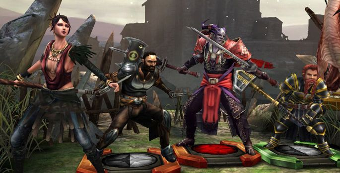 Heroes of Dragon Age - Test