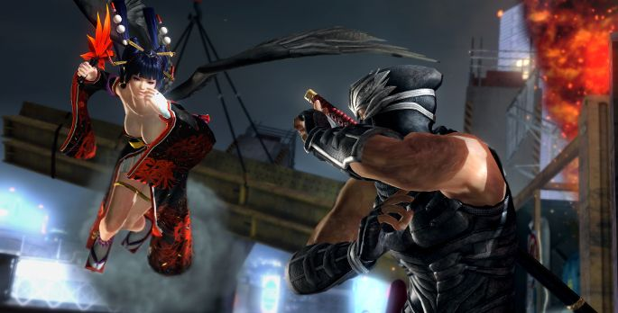 Dead or Alive 5: Last Round - Test