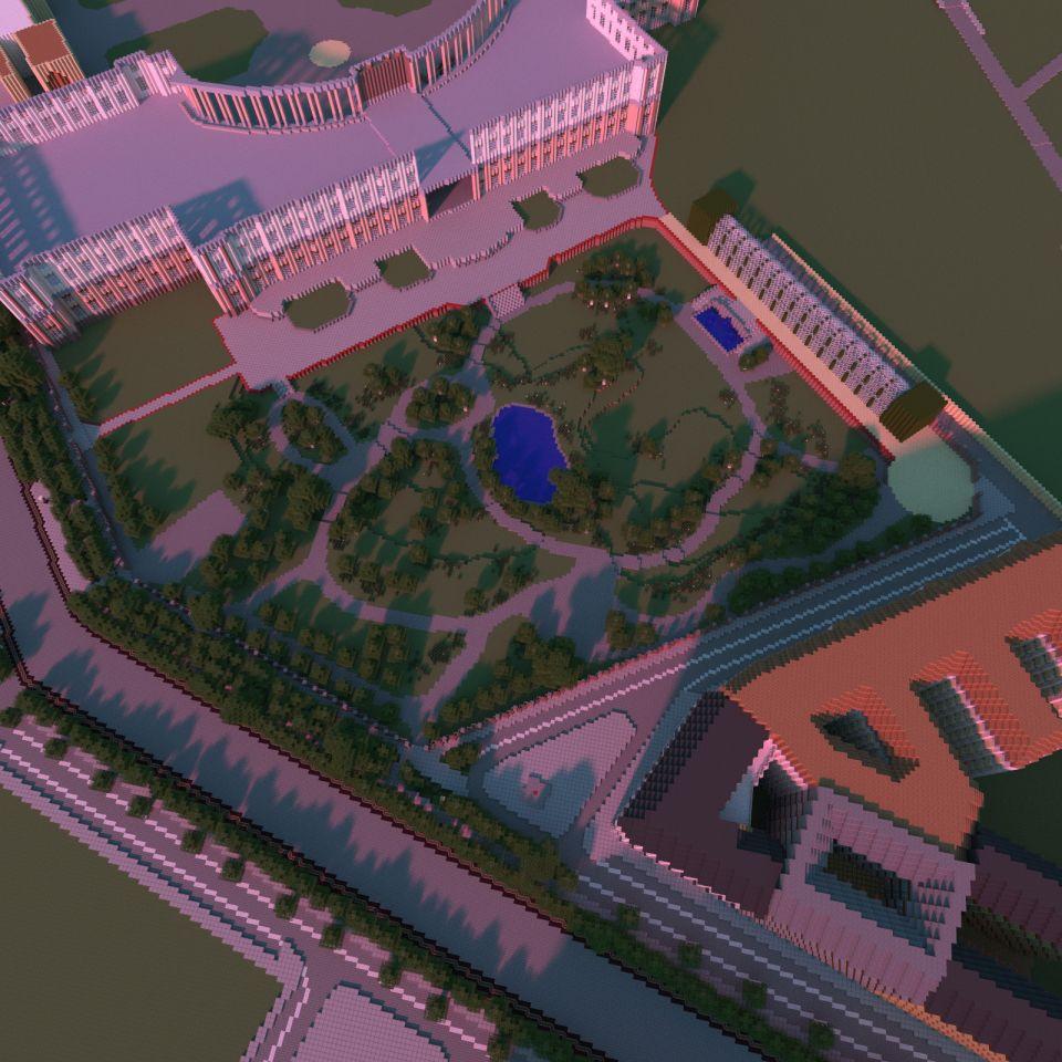 Ein Anflug Von Grossenwahn Wien Als Minecraft Stadt Special Von