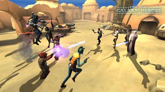 Star Wars: Galaxy of Heroes - Screenshots - Bild 5