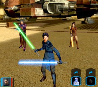Star Wars: Knights of the Old Republic 2 - The Sith Lords - Test