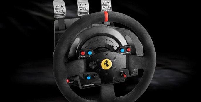 Thrustmaster T300 Ferrari Integral Racing Lenkrad Alcantara Edition - Test