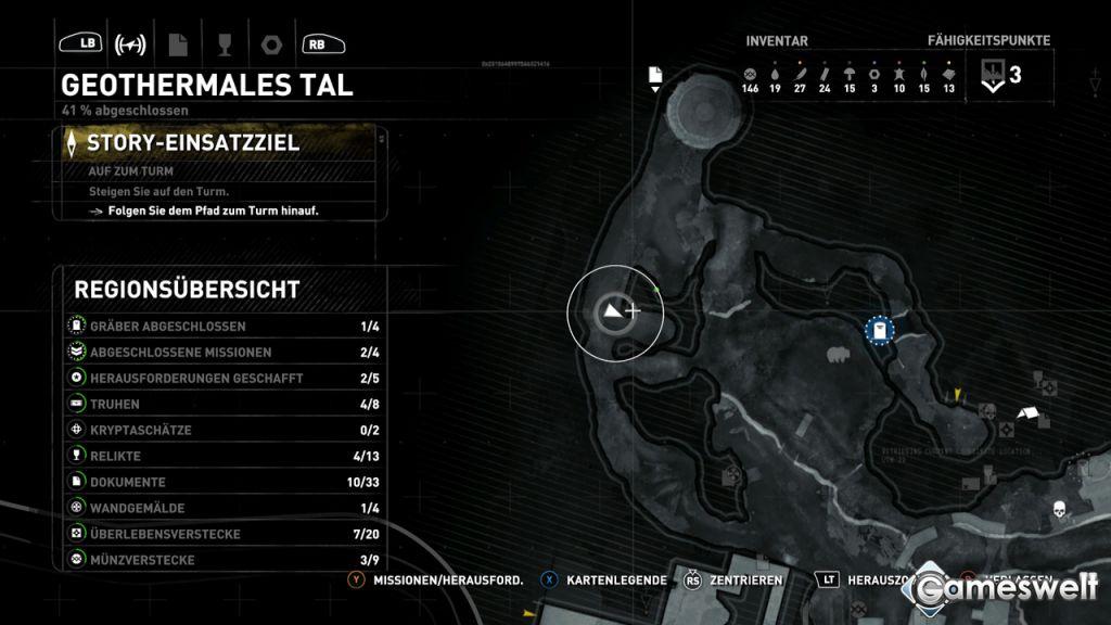 Rise Of The Tomb Raider Kopfsprung