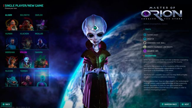 Master of Orion: Conquer the Stars - Screenshots - Bild 5