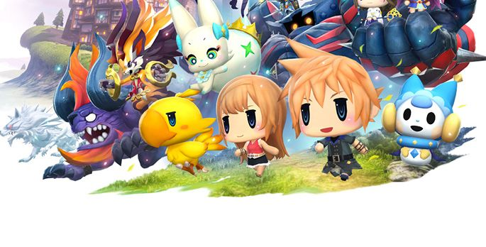 World of Final Fantasy - Komplettlösung
